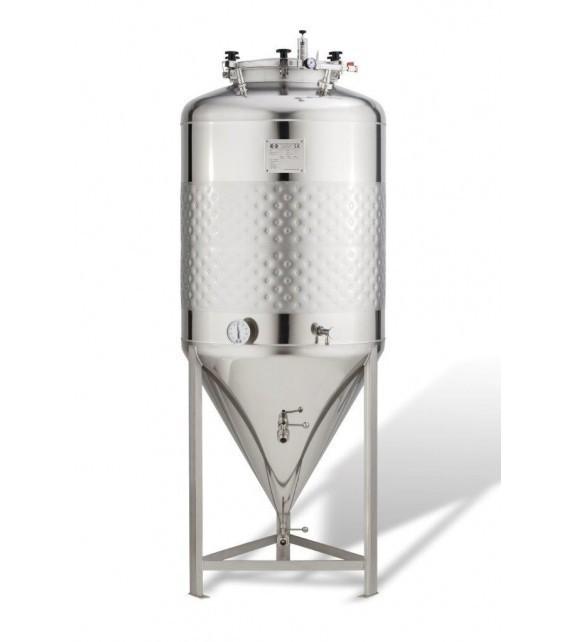 Cuve inox 120l cylindro-conique 2.5 B